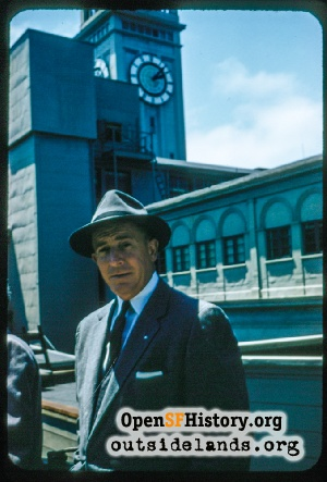 Ferry Building,Jul 1958