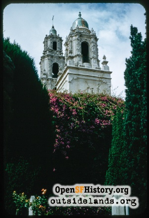 Mission Dolores,Jul 1958