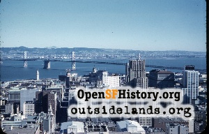 View from Top of the Mark,Nov 1958