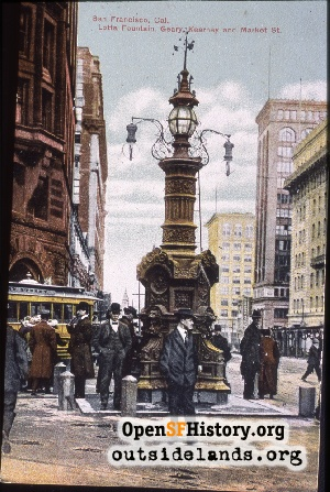 Lotta's Fountain,1909