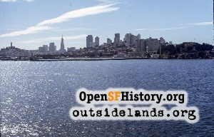 View from SF Bay,Sep 1972