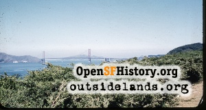 GG Bridge from Lands End,1958