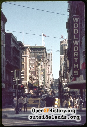 Powell & Market,Aug 1967
