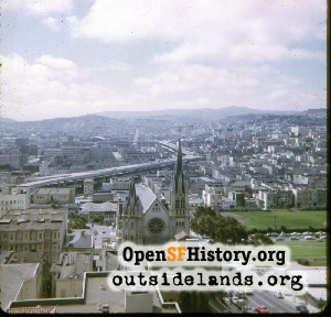 View S from Carillon Tower,Oct 1968