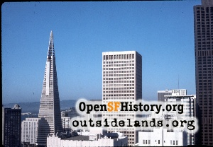 View NE from Nob Hill,Apr 1972