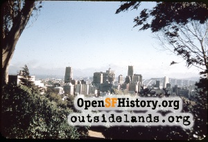 View S from Telegraph Hill,1950