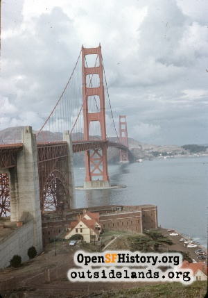 Golden Gate Bridge,Nov 1960