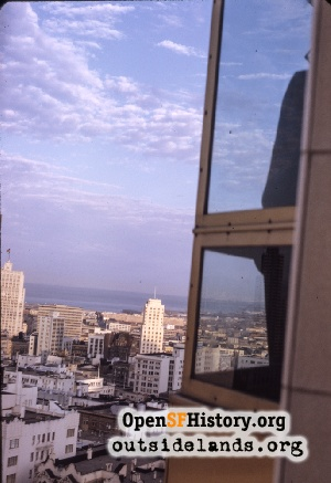 View SE from Fairmont,Jul 1970