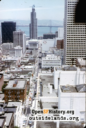 View E from Fairmont,Jul 1970