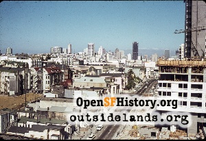 View from Japantown,1968
