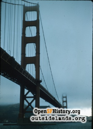 Golden Gate Bridge,Aug 1958