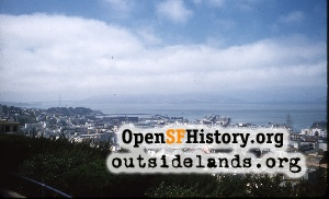 View from Telegraph Hill,Sep 1959