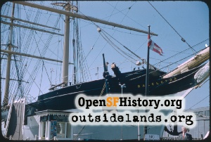 Balclutha sailing ship