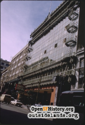 Hallidie Building,Mar 1970