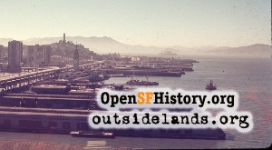 View NW from Bay Bridge,Jul 1968
