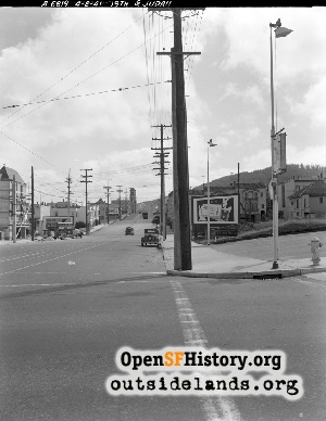 19th Avenue & Judah,1941