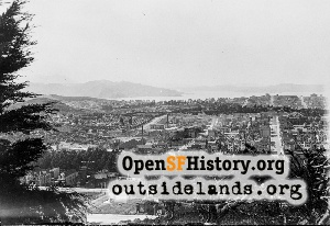 View N from Buena Vista Park,1905