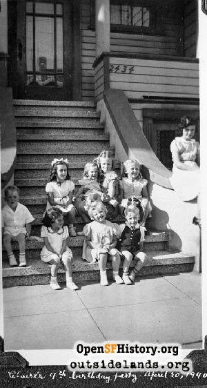 Anza near 16th Ave,1940