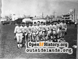 Pacific Bell Baseball Team,1930