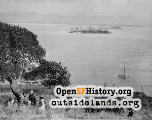 View from Yerba Buena Island,1930s