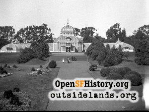 Conservatory of Flowers,1905