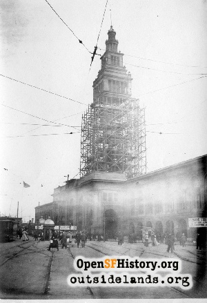 Ferry Building reconstruction