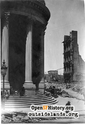 Hibernia Bank After the Earthquake