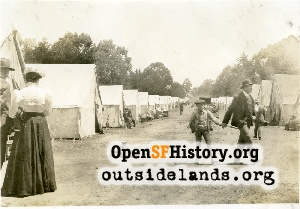 GG Park Refugee Camp,1906