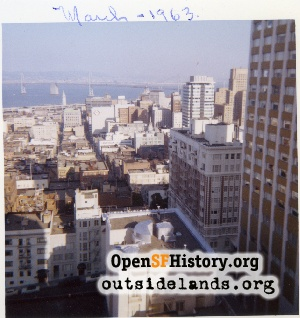 View E from Nob Hill,Mar 1963