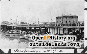 Fisherman's Wharf,Jul 1926