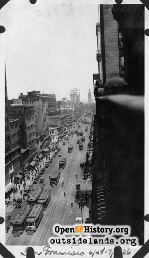 Market at 3rd,Jul 1926