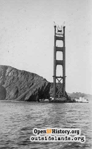 Golden Gate Bridge,1935