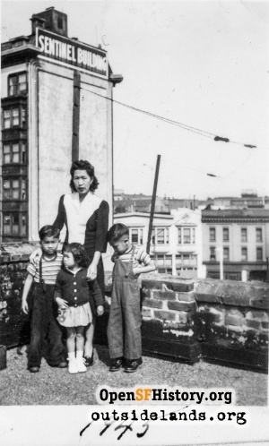 Chinatown Rooftop,1945