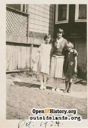 Unknown Backyard,Oct 1924