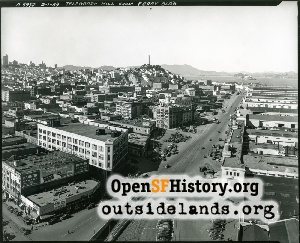 View of Telegraph Hill,1939