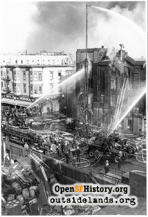 Fire at Howard & Harriet,1934