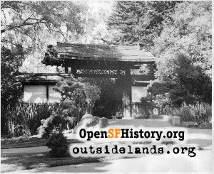 South Entrance Gate to Japanese Tea Garden