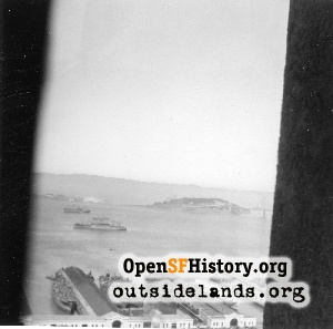 View E from Coit Tower,1945