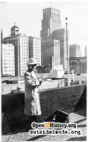 Chinatown Rooftop,1939