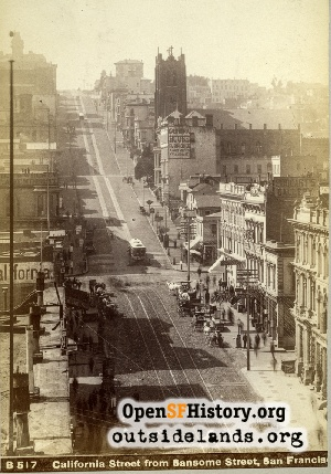 California Street Hill,1885