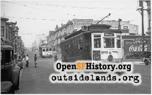 Divisadero near Oak,1938