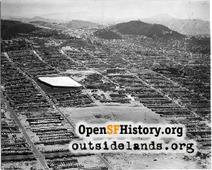Ortega & Sunset Aerial,1941