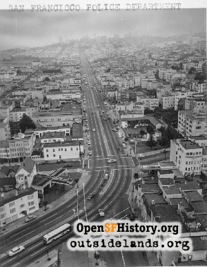 Lombard St Aerial,1960