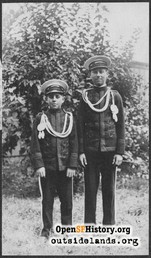 Unknown Boys,1916