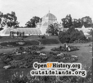 Conservatory of Flowers,1890