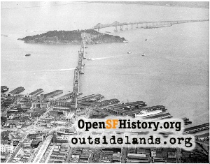 Bay Bridge Aerial,1936