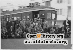 Taraval near 48th Ave,1951