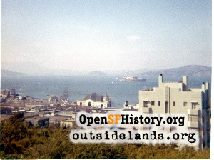 View N from Telegraph Hill,Sep 1961