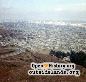 View from Twin Peaks,Sep 1961