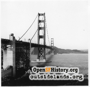 Golden Gate Bridge,May 1948